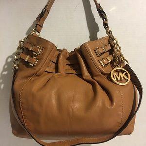 Michael kors Brown leather hobo handbag